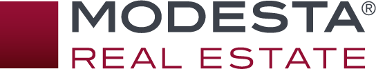 Modesta Real Estate Logo