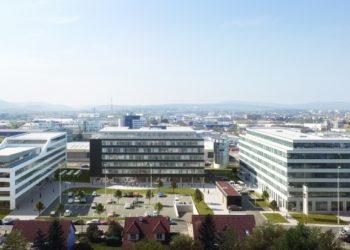 SILO – modernes, nachhaltiges Bürogebäude im Gewerbegebiet Liesing