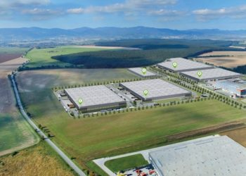 Goodman Logistics Centre Senec, Slovakia